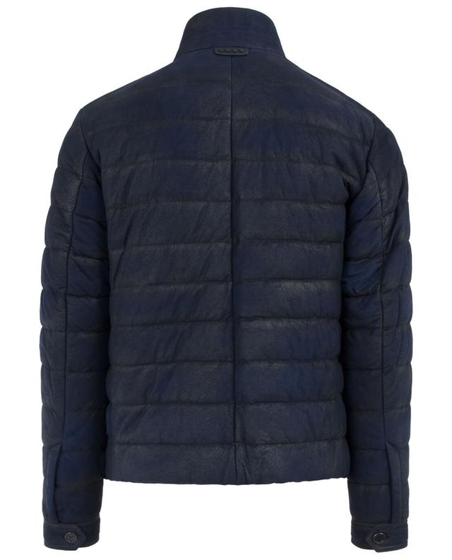Leather quilted jacket TOD'S