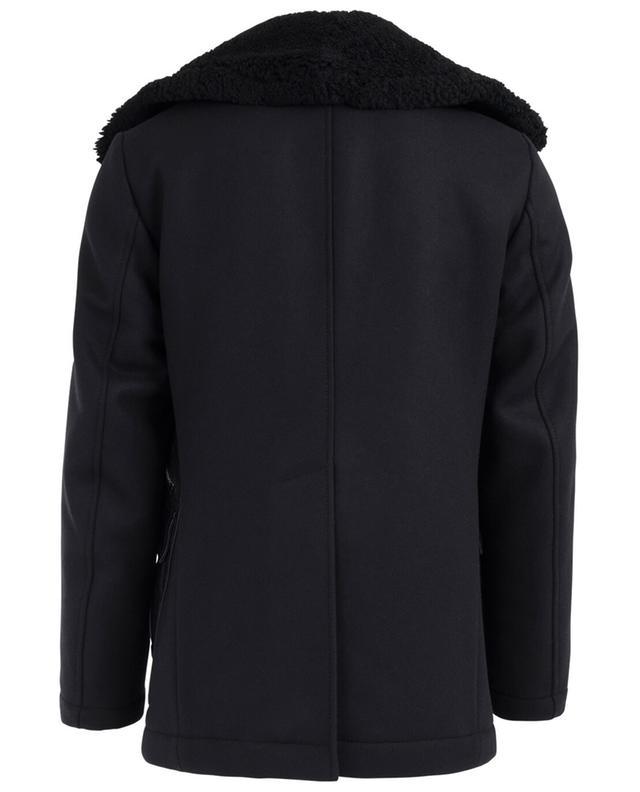 Manteau caban en laine vierge et cachemire DSQUARED2