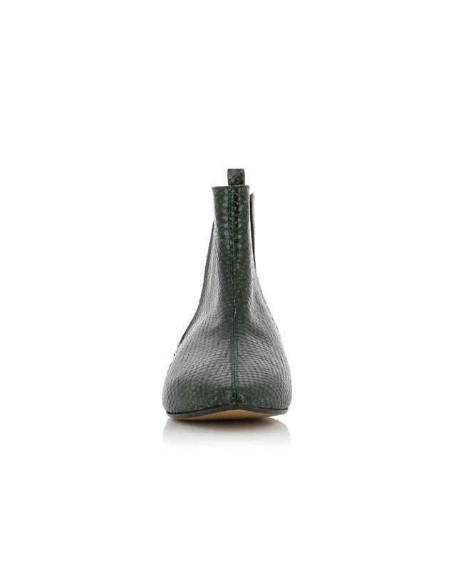 Stiefeletten aus Leder mit Python-Effekt Reckler ISABEL MARANT