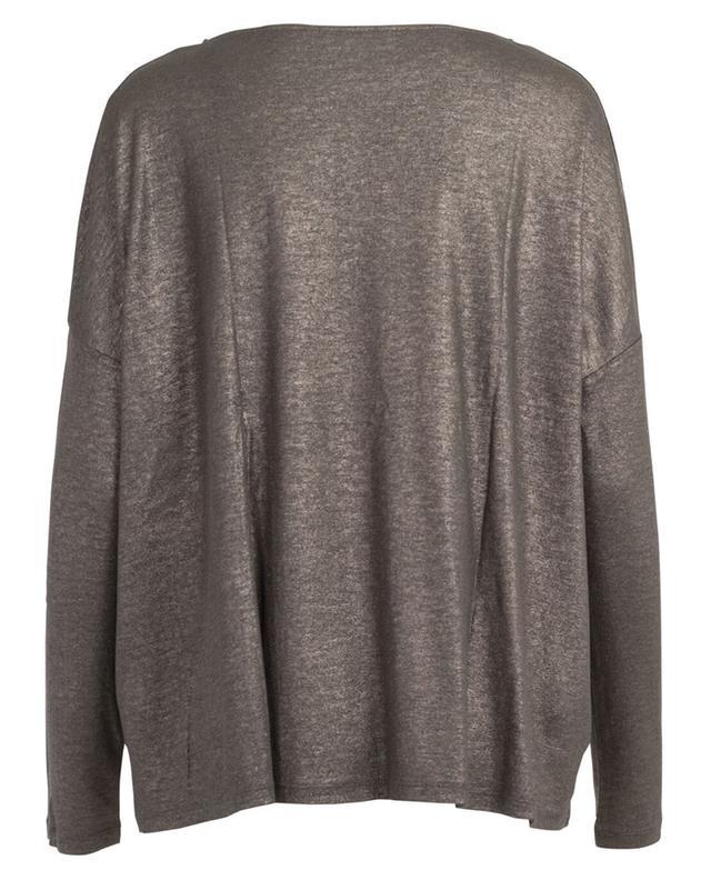 T-shirt en coton, cachemire et soie MAJESTIC FILATURES
