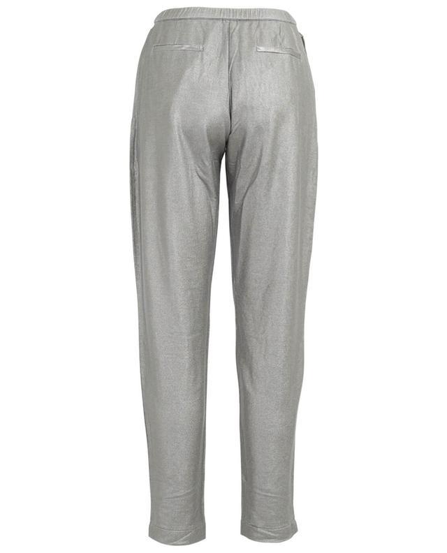 Pantalon jogging en viscose mélangée MAJESTIC FILATURES