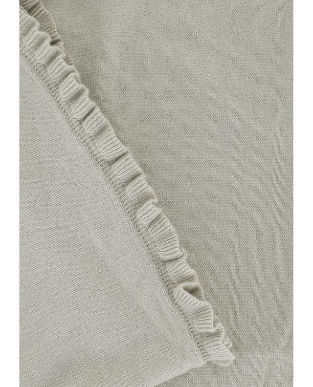 Emotion echarpe en laine et cachemire beige a38648