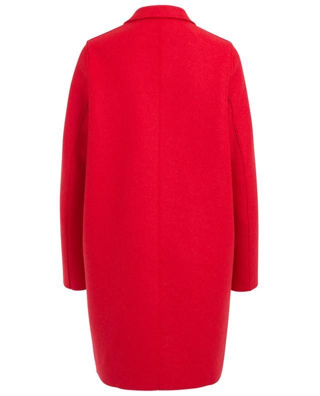 Cocoon virgin wool coat HARRIS WHARF