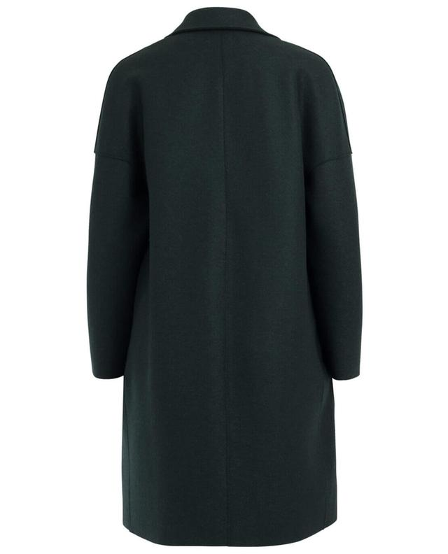Harris wharf oversize-mantel aus schurwolle grün a38865
