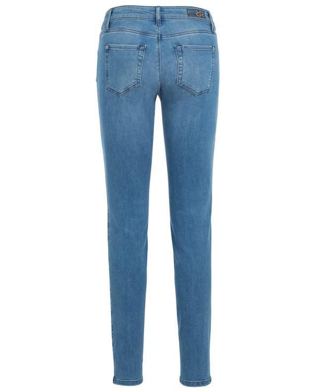 Jane Stripe slim fit jeans RAFFAELLO ROSSI