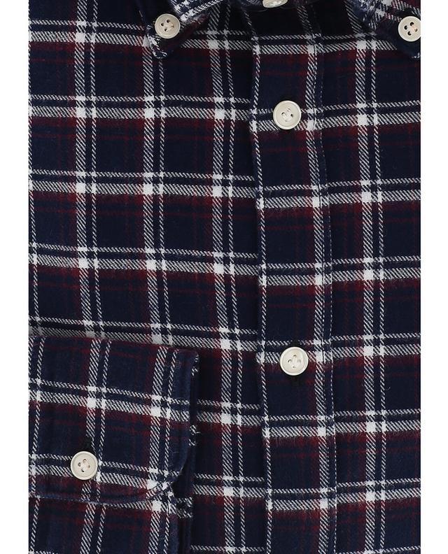 Chemise à carreaux en flanelle ATELIER BG