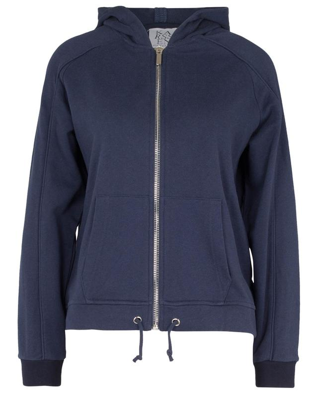"Bat printed ""balloon fit"" hooded sweat jacket ZOE KARSSEN"