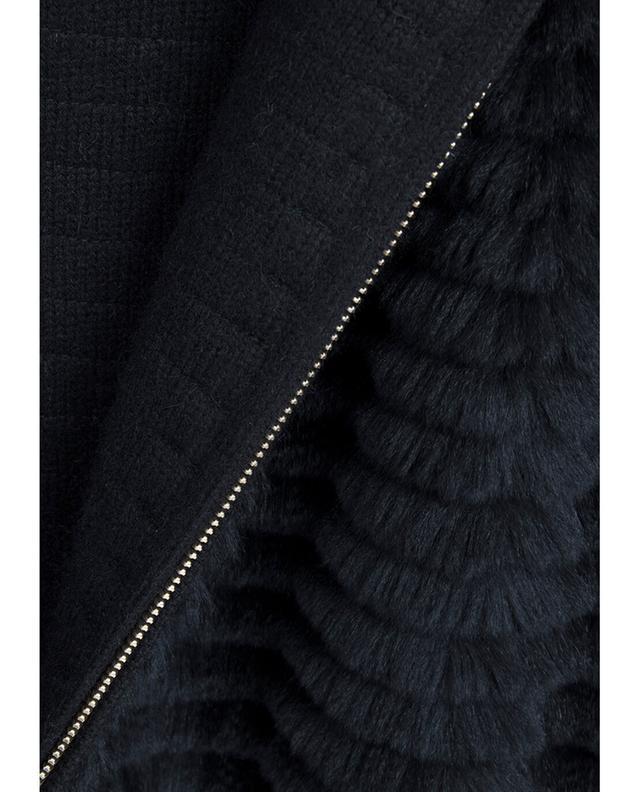 Mittellange Jacke aus Kaninchenfell YVES SALOMON