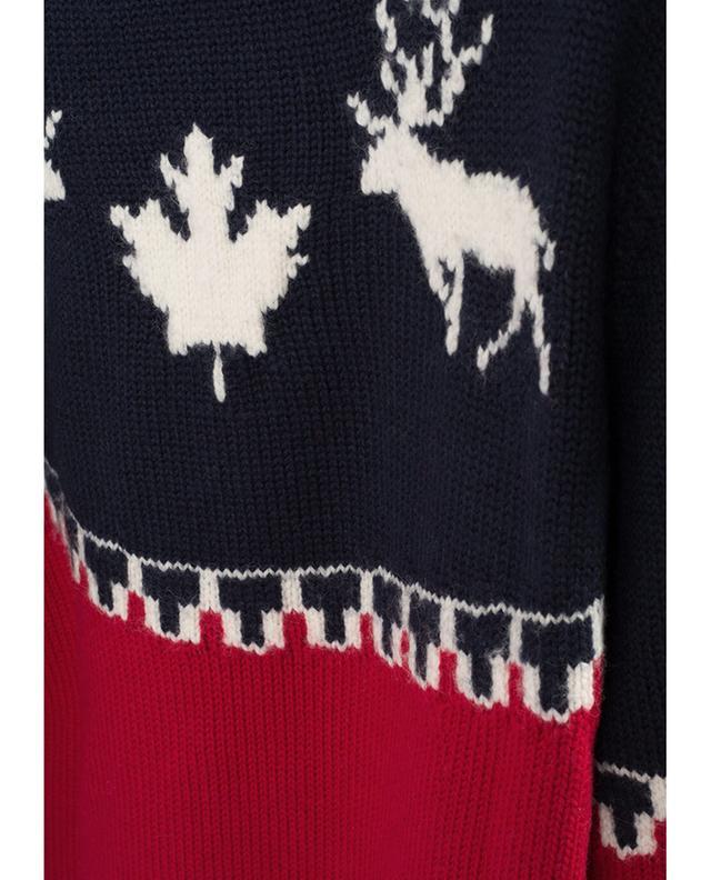Pullover en laine mélangée DSQUARED2