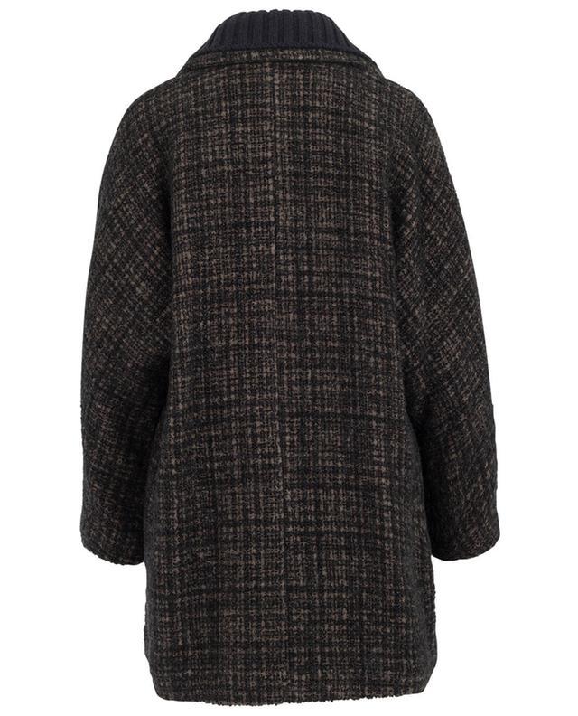 Manteau en laine mérinos, alpaga et mohair FABIANA FILIPPI