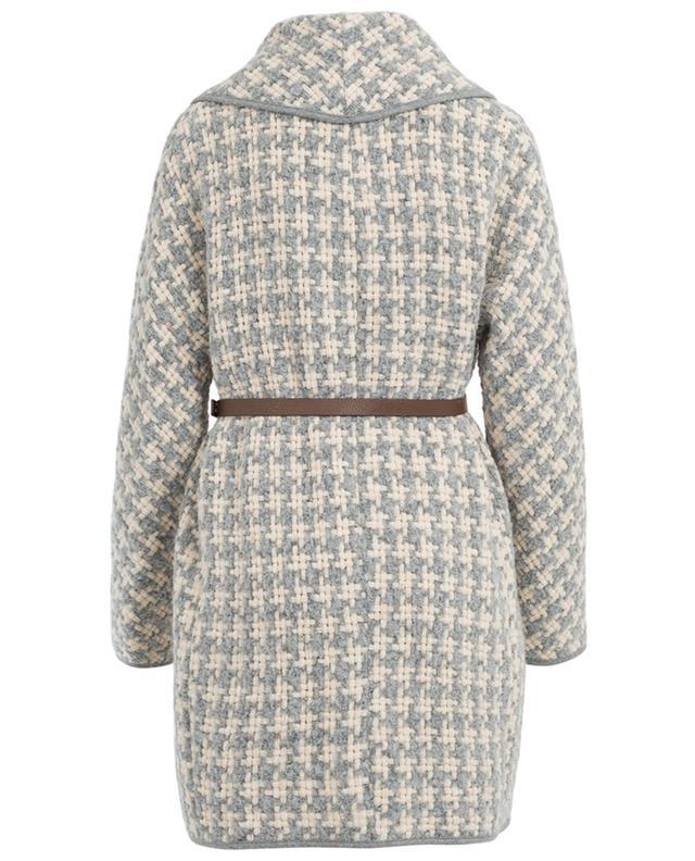 Manteau en laine mélangée avec ceinture FABIANA FILIPPI