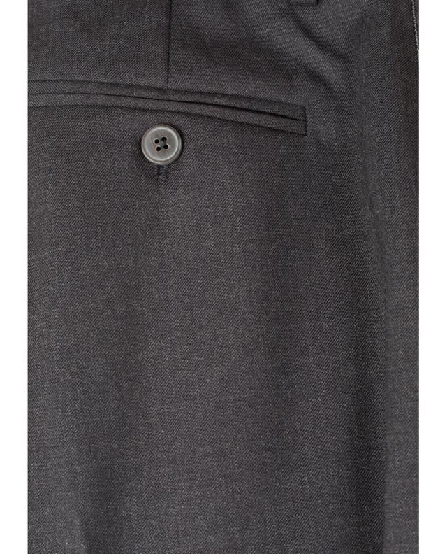 Pantalon slim en laine vierge mélangée Assisi FABIANA FILIPPI