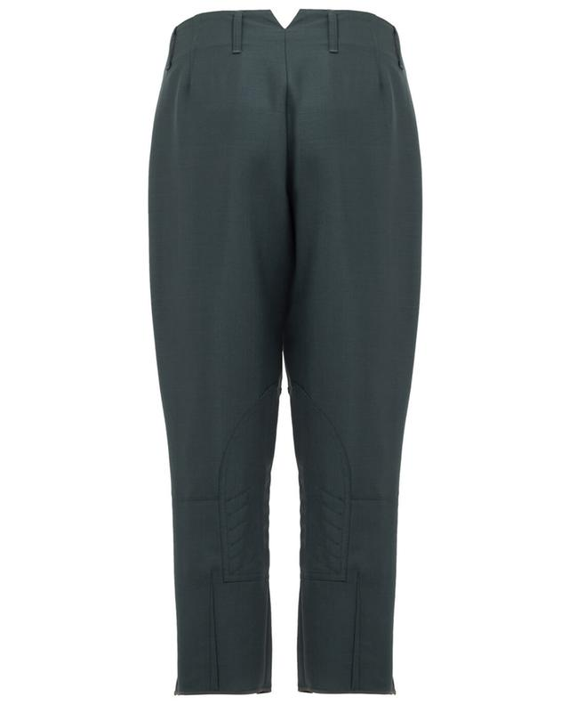 Pantalon raccourci en mohair mélangé FENDI
