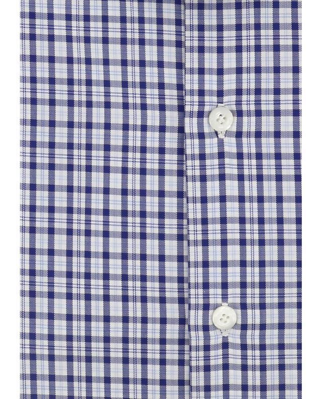 Chequered cotton shirt Zante FINAMORE