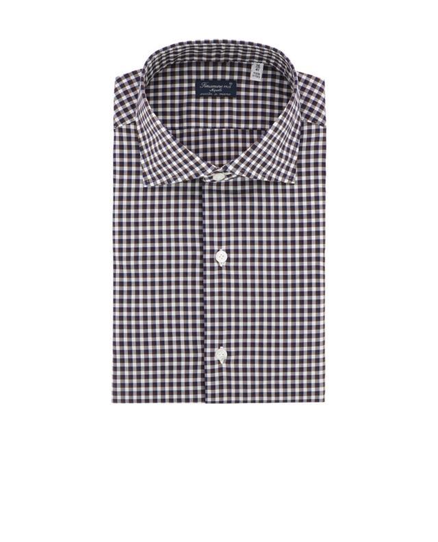 Zante chequered cotton shirt FINAMORE