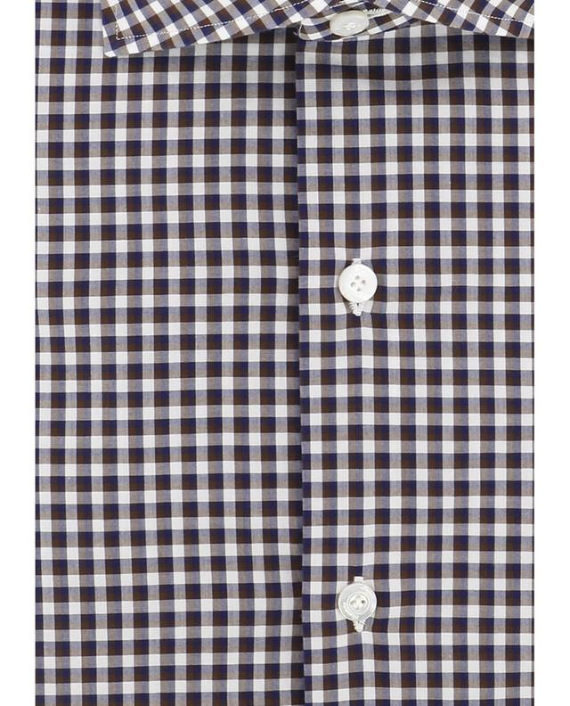 Kariertes Hemd aus Baumwolle Zante FINAMORE