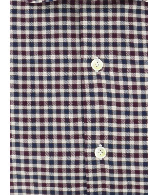 Chemise en Cotton à carreaux Zante FINAMORE