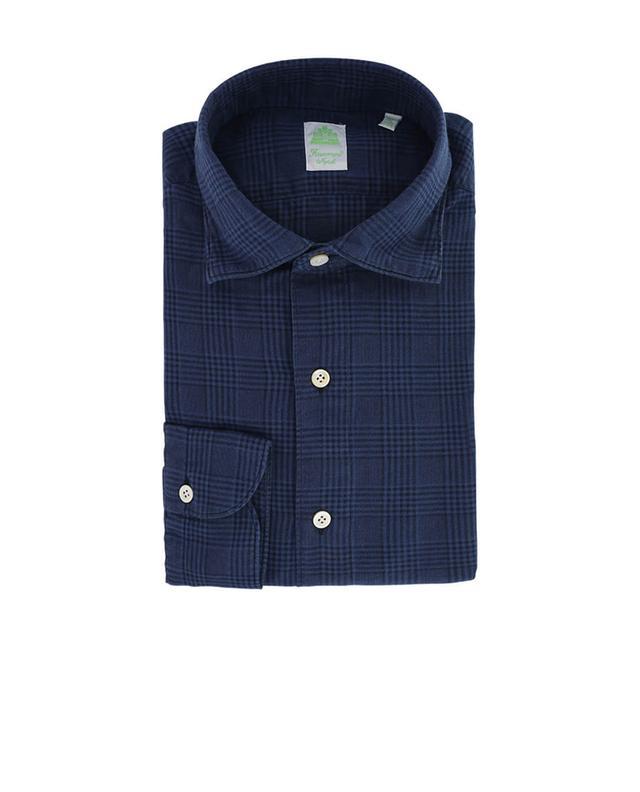 Tokyo Luigi chequered shirt FINAMORE