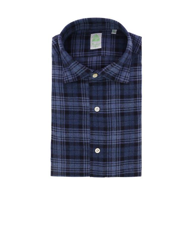 Kariertes Hemd aus Baumwolle Tokyo FINAMORE