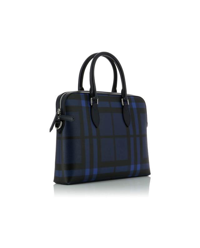 The Slim Barrow leather briefcase BURBERRY