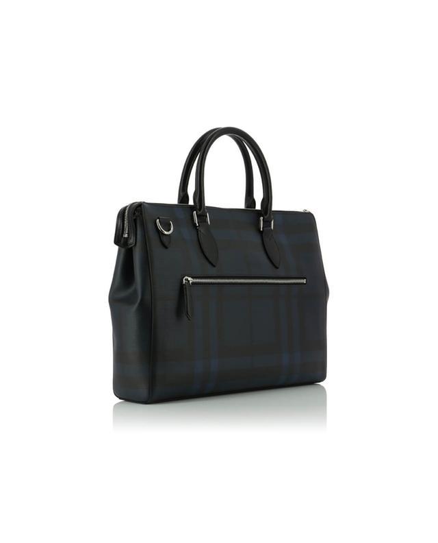 Bermondsey chequered briefcase BURBERRY