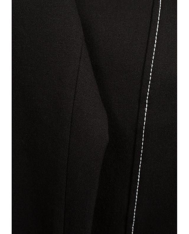 Pantalon stretch en viscose mélangée Lenny JOSEPH