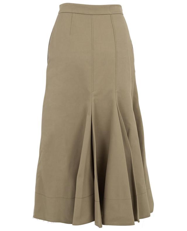 Cotton and silk A-line skirt JOSEPH