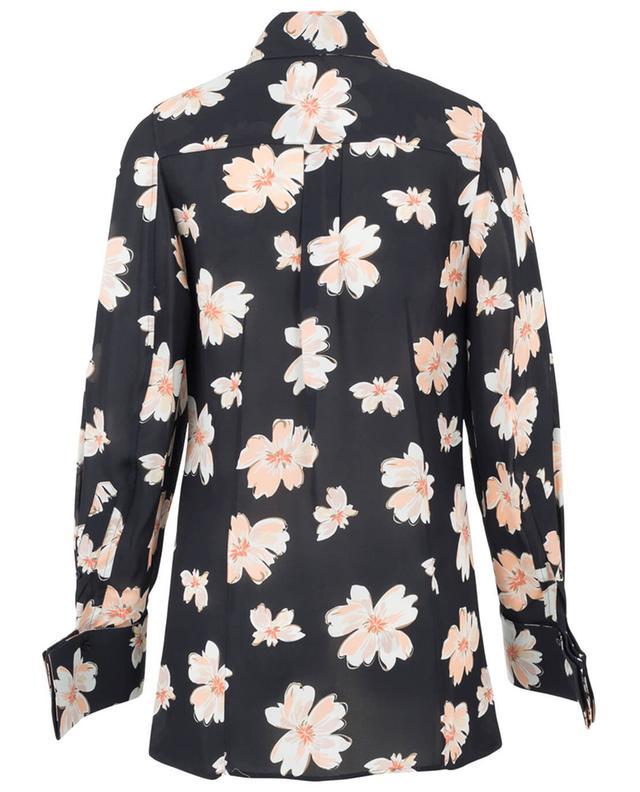 Moss printed silk blend blouse JOSEPH