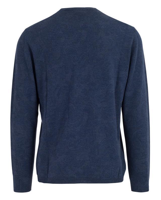 Pullover aus Wolle mit Print ETRO