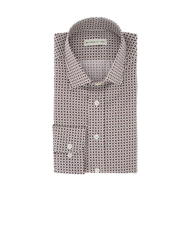 Patterned cotton shirt ETRO