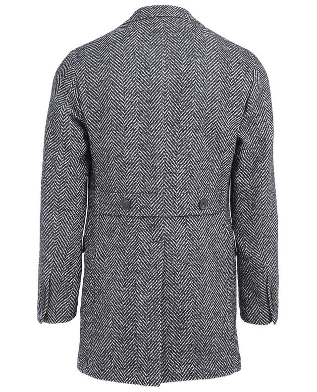 Manteau en laine et cachemire mélangés MAURIZIO BALDASSARI