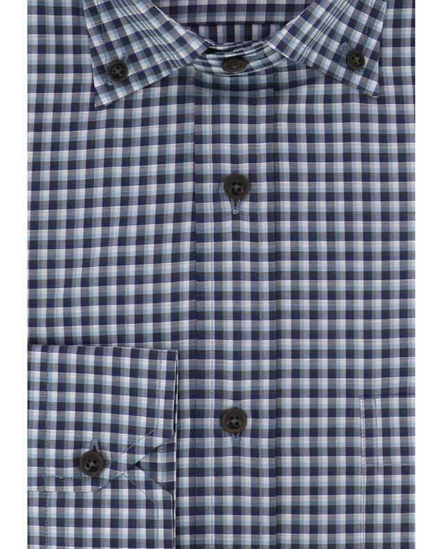 Chequered cotton shirt MAURIZIO BALDASSARI