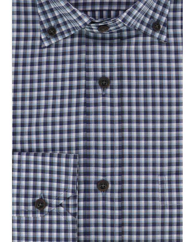 Kariertes Hemd aus Baumwolle MAURIZIO BALDASSARI