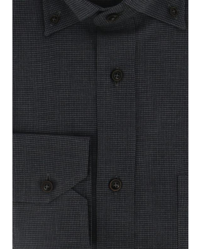 Chemise en coton à motif MAURIZIO BALDASSARI