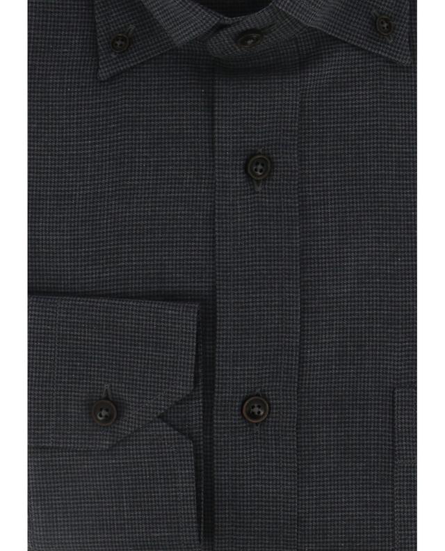 Patterned cotton shirt MAURIZIO BALDASSARI