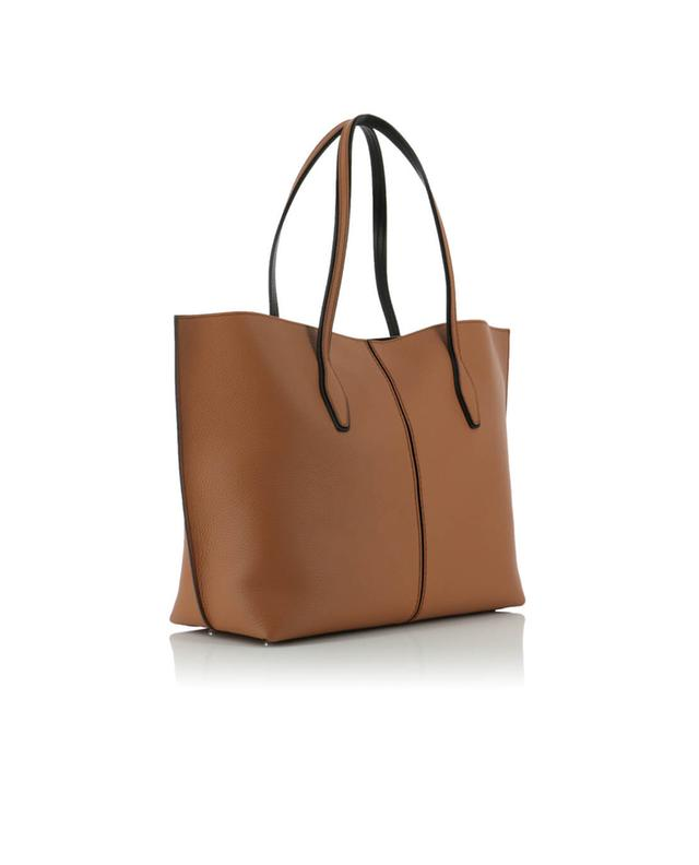 Tod's grained leather shopper bag camel a40597