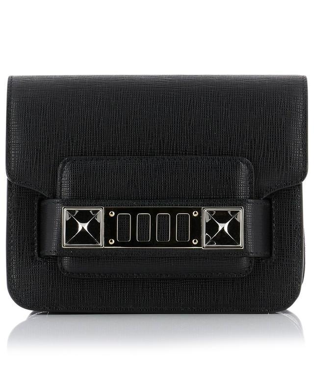 Proenza schouler ps1 1 leather crossbody bag black a40654
