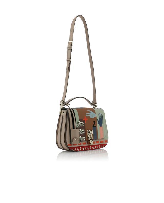 Valentino sac porté épaule en cuir joylock messenger multicolore1
