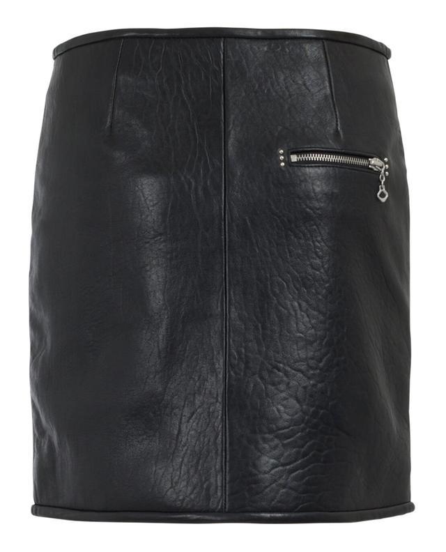 Mini-jupe en cuir ISABEL MARANT