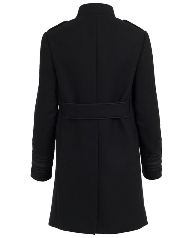 Wool blend officer coat RED VALENTINO