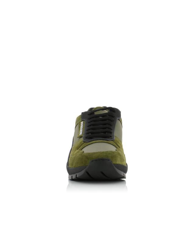Kit textile and suede sneakers DSQUARED2