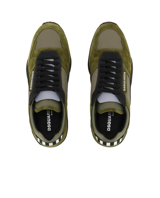 Sneakers aus Stoff und Wildleder Kit DSQUARED2