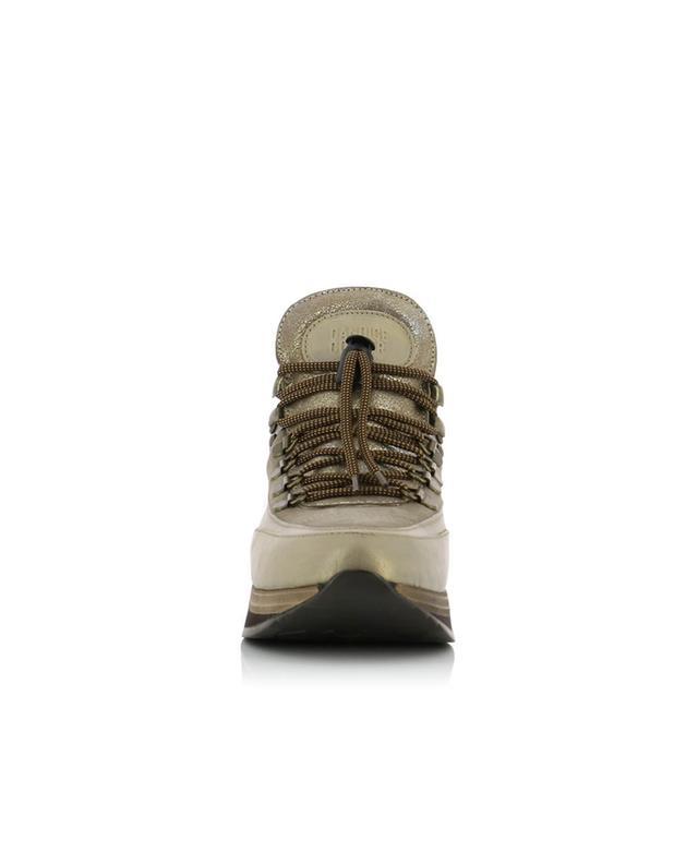 Baskets montantes en daim et cuir Trek-D CANDICE COOPER