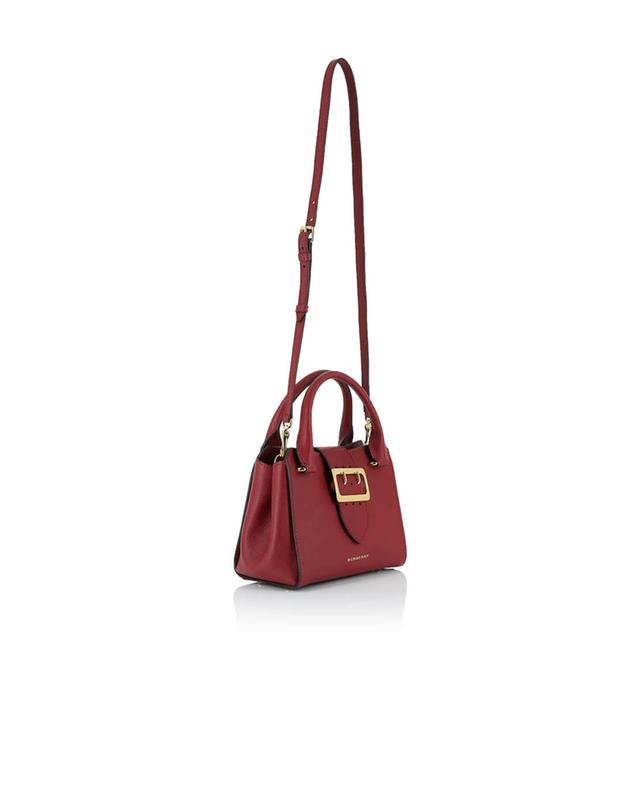Burberry sac en cuir grainé the buckle rouge a41498