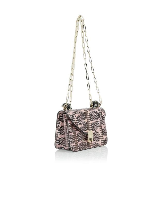 Valentino snakeskin crossbody bag lightpink a41527