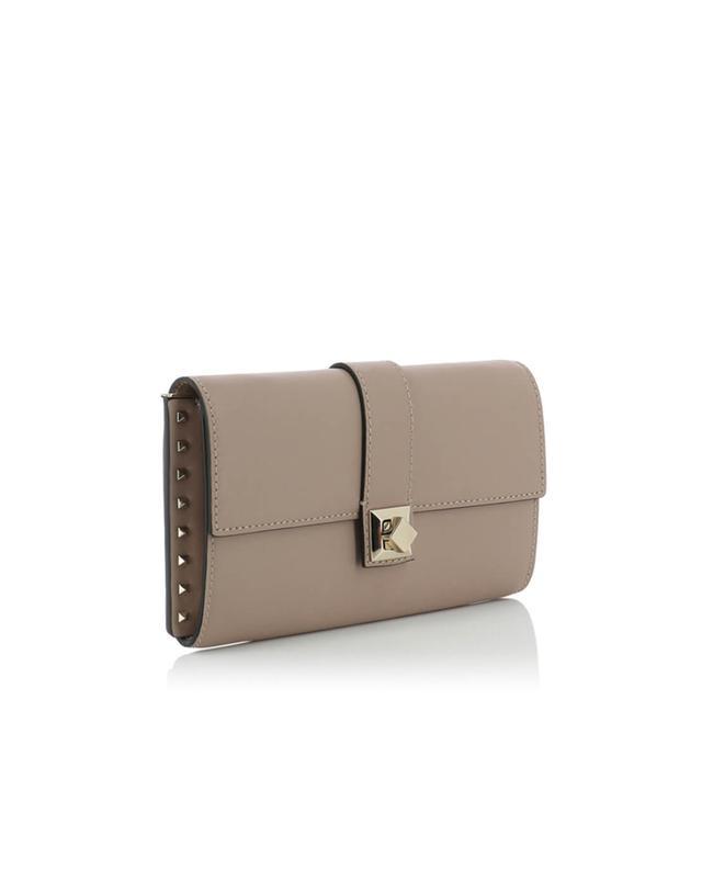 Valentino leather shoulder bag lightpink a41529