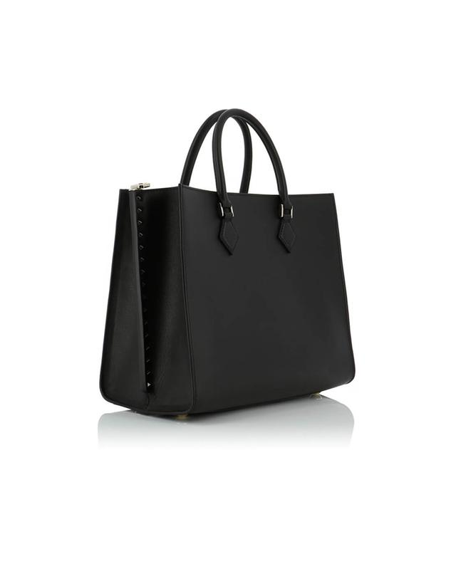 Valentino handtasche aus leder schwarz a41534