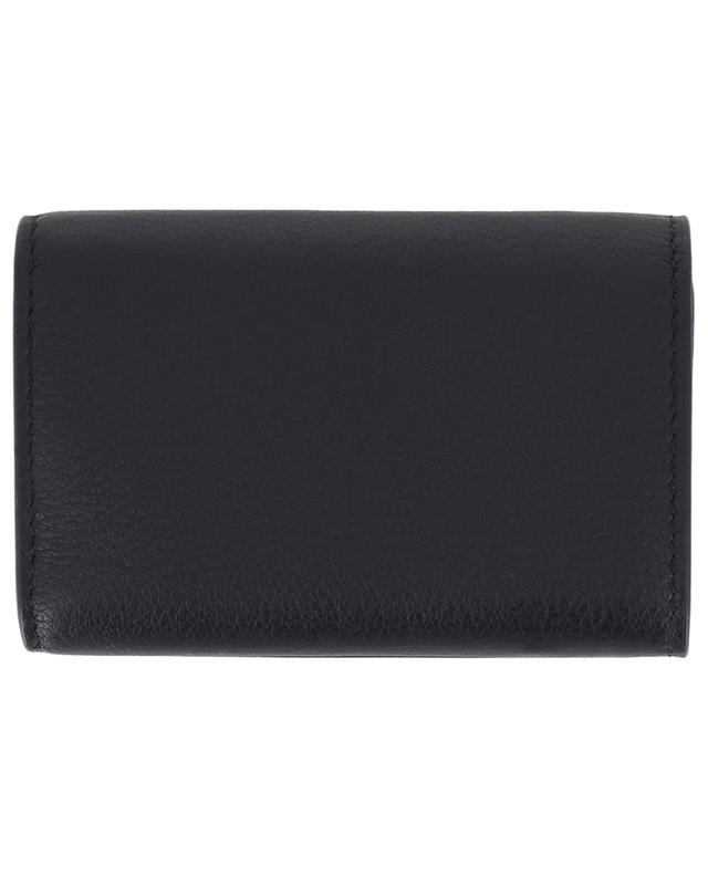 Balenciaga leather mini-wallet black a41653