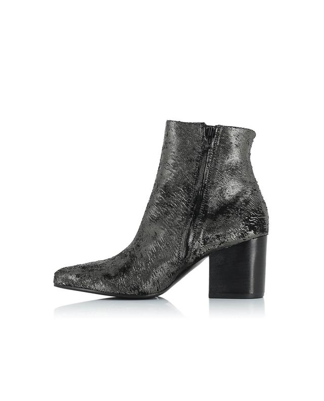 Phoenix textured leather ankle boots VIC MATIE