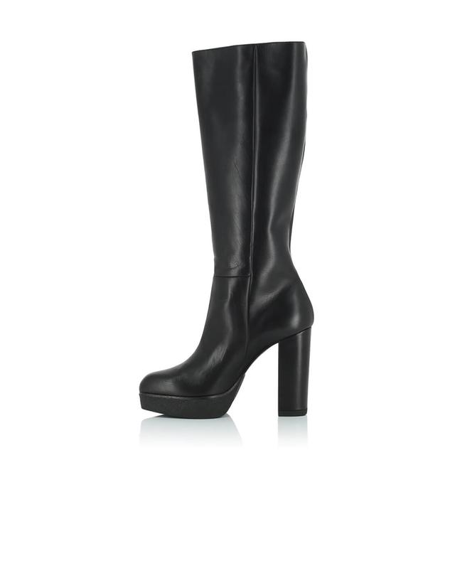 Hohe Stiefel aus glattem Leder Avinton VIC MATIE